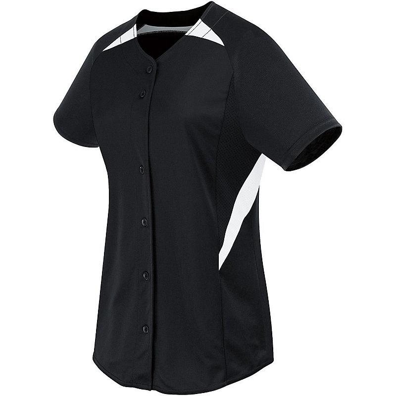 Girls Galaxy Full Button Jersey