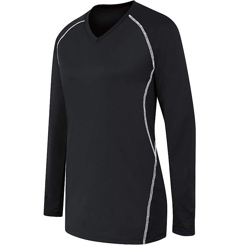 Girls Long Sleeve Solid Jersey
