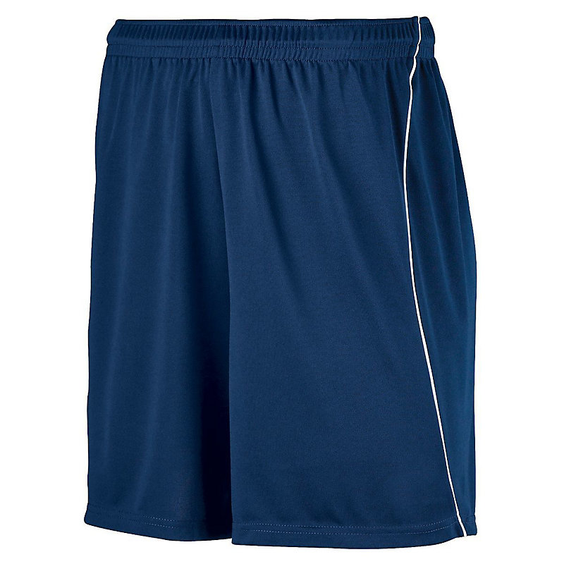 Wicking Soccer Short With Piping