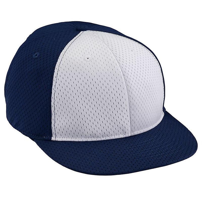 Adult Athletic Mesh Flat Bill Cap